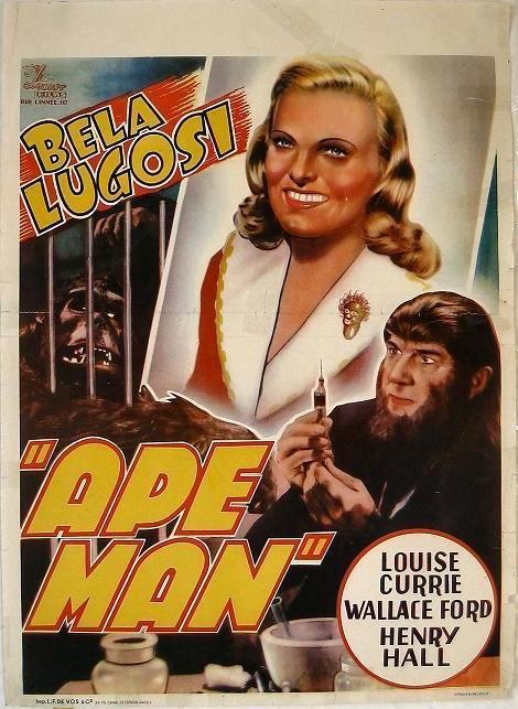 猿人ベルギーポスター