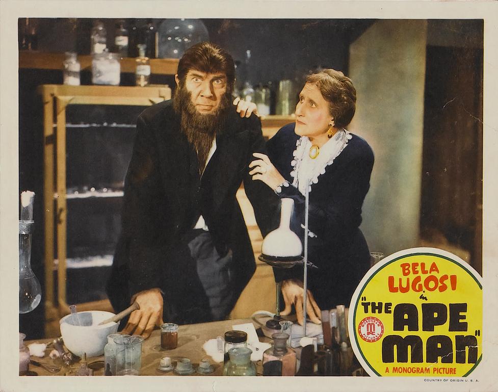 The Ape Man Lobby Card 4