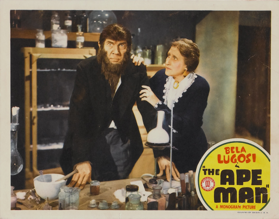 The Ape Man Lobby Card 4