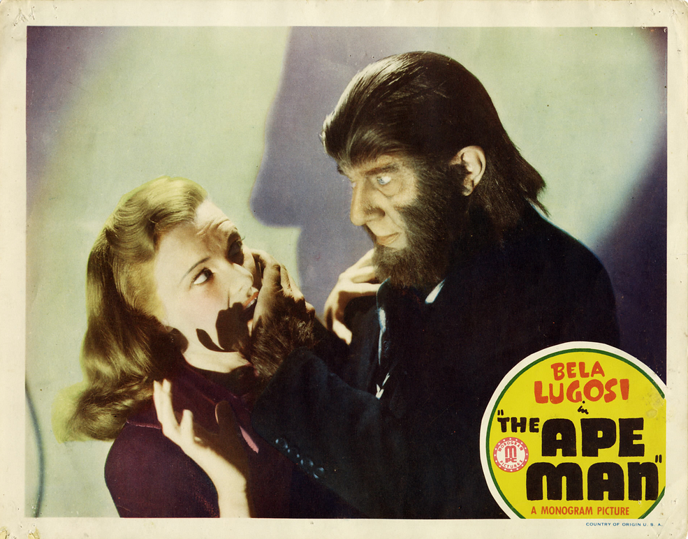 The Ape Man Lobby Card 6