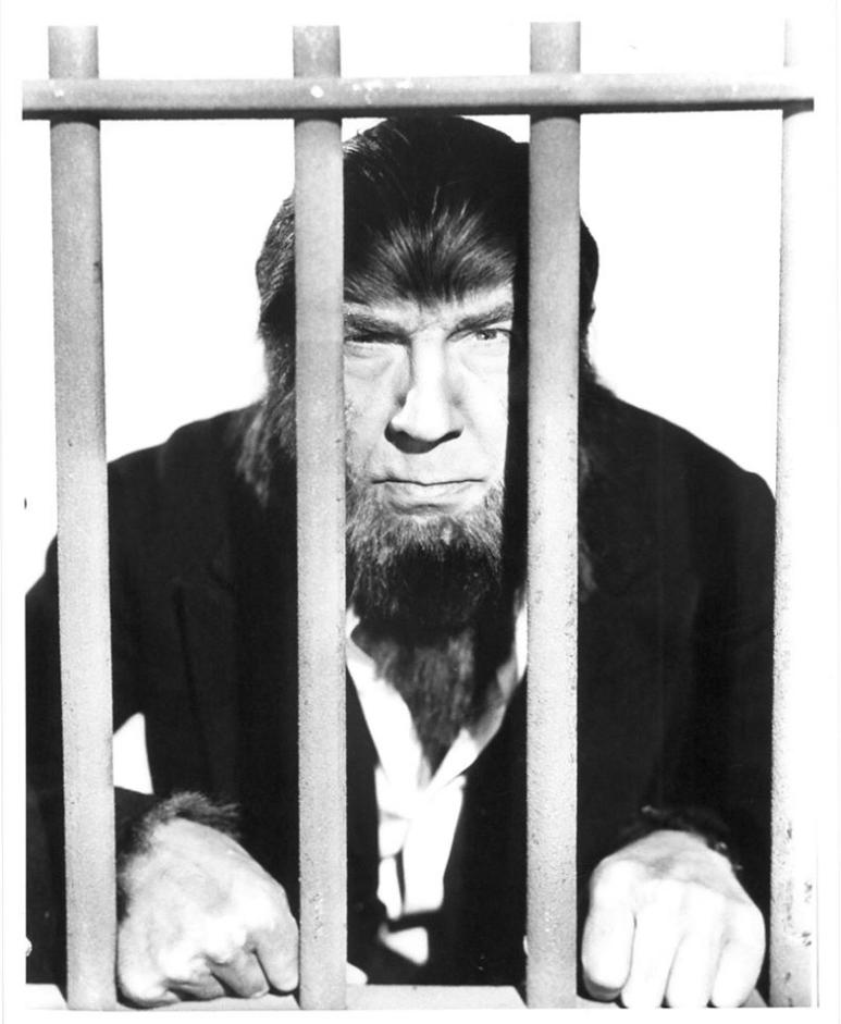 The Ape Man - Paul Seiler collection