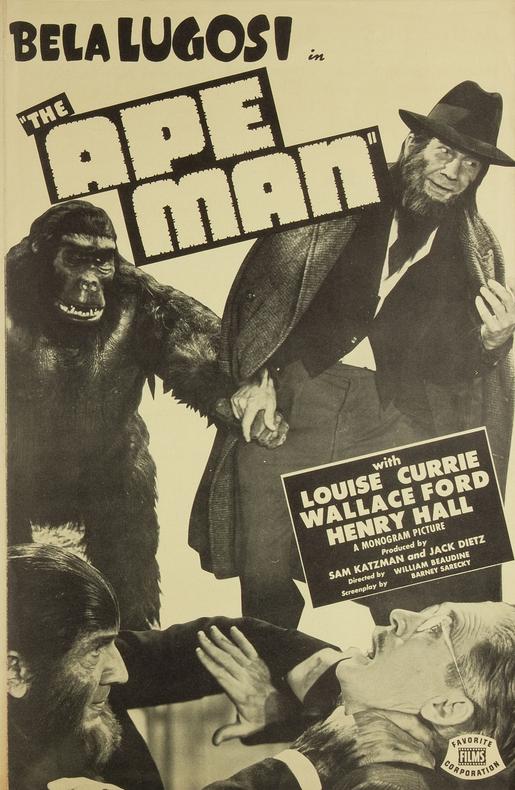 The Ape Man Pressbook 1