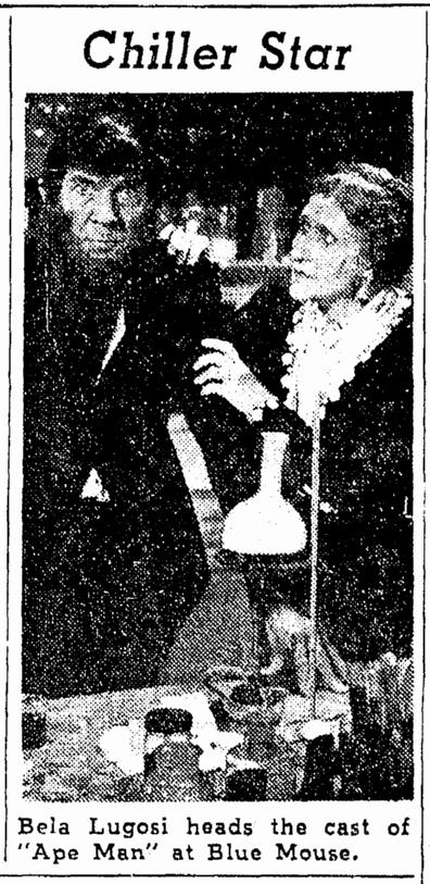 The Ape Man, The Oregonian, April 12, 1943