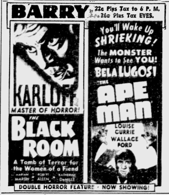 The Ape Man, The Pittsburgh Press, March 10, 1943