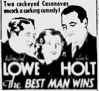 The Best Man Wins, Spokane Review, September 15, 1935