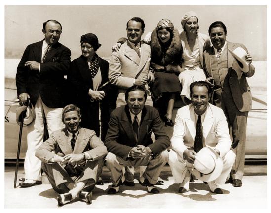 The Black Camel cast
