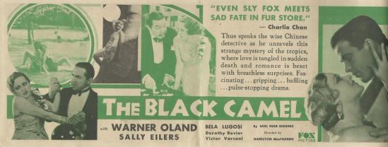 The Black Camel Herald 2