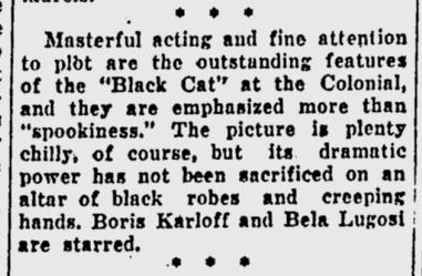 The Black Cat, Eugene Register-Guard, May 11, 1934