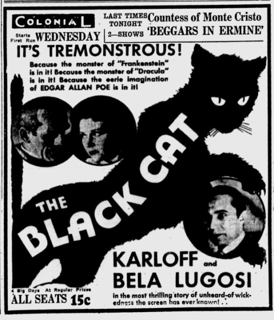 The Black Cat, Eugene Register-Guard, May 8, 1934