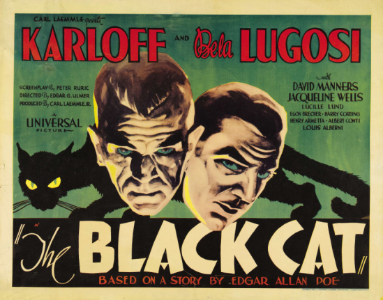 The Black Cat Half Sheet