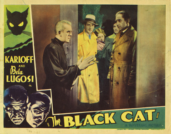 The Black Cat Lobby Card 1