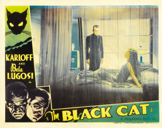 The Black Cat Lobby Card 2