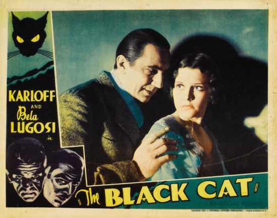 The Black Cat Lobby Card 3