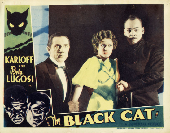 The Black Cat Lobby Card 4