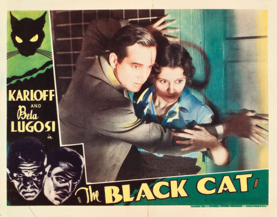 The Black Cat Lobby Card 5