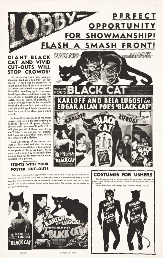 The Black Cat Pressbook 4