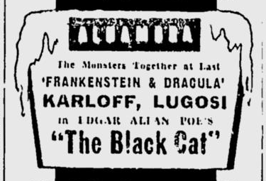 The Black Cat, The Milwaukee Journal, May 14, 1934