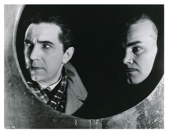 Bela Lugosi and Harry Cording