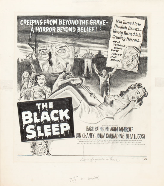 The Black Sleep Concept Art