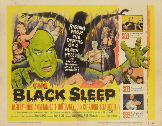 The Black Sleep Lobby Card 1