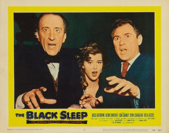 The Black Sleep Lobby Card 2