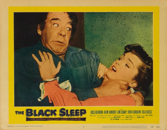 The Black Sleep Lobby Card 3