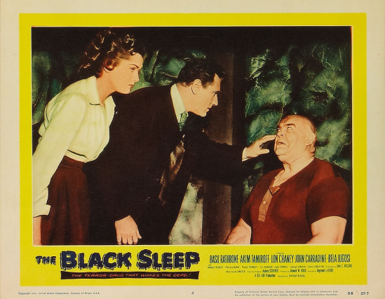 The Black Sleep Lobby Card 4