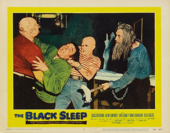 The Black Sleep Lobby Card 5