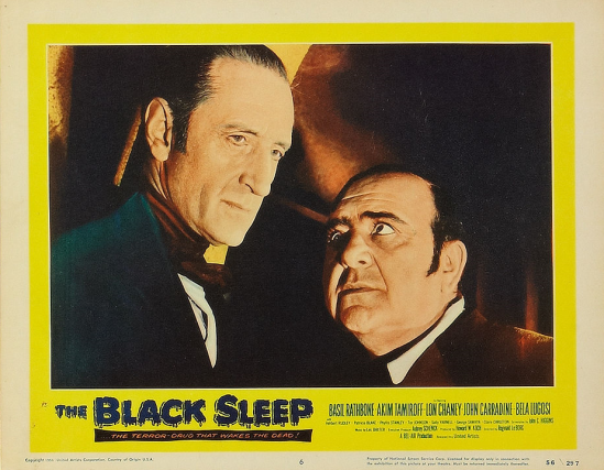 The Black Sleep Lobby Card 6