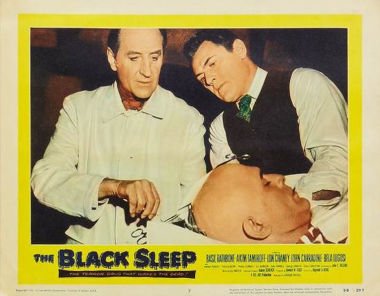 The Black Sleep Lobby Card 7