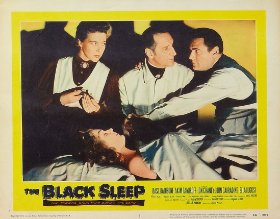 The Black Sleep Lobby Card 8