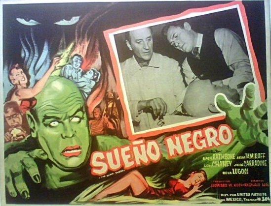 The Black Sleep Mexican Lobby Card