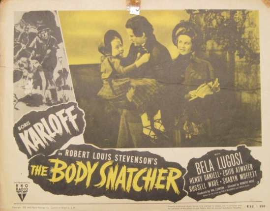 The Body Snatcher 1952 re-release Lobby Card 5
