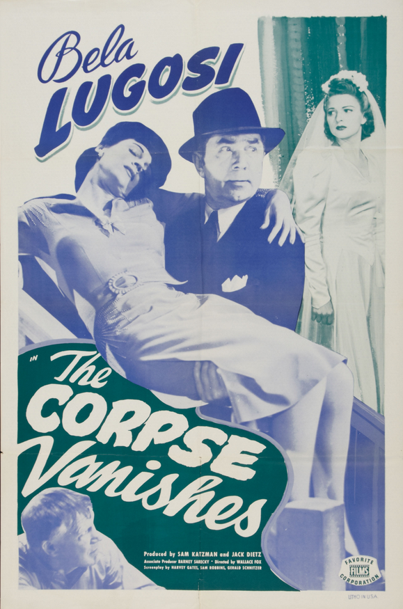 The Corpse Vanishes 1949 Re-Release One Sheet
