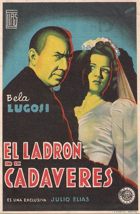 The Corpse Vanishes Spanish Herald