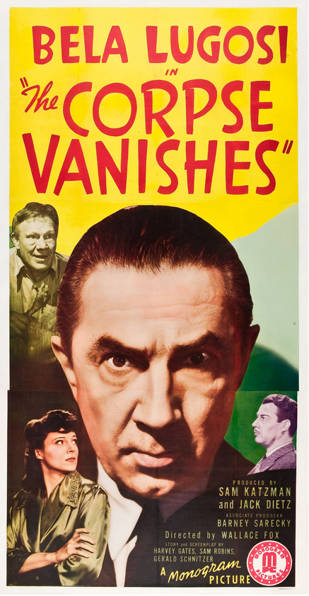 The Corpse Vanishes Three Sheet