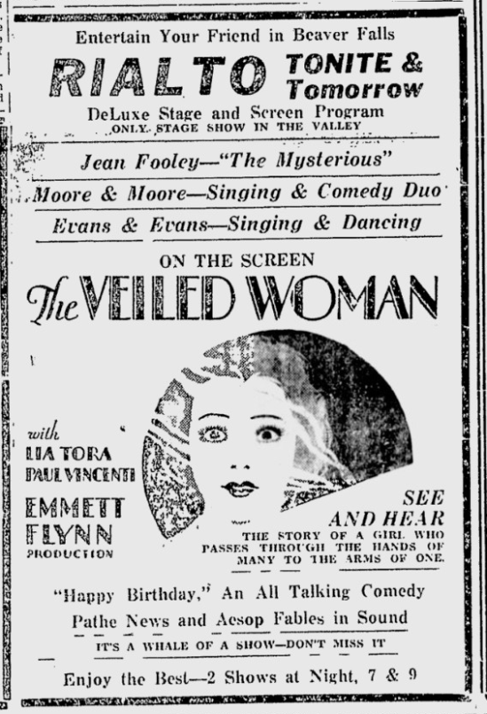 The Daily Times, May 1, 1929