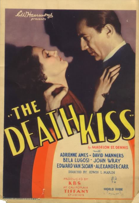 The Death Kiss Mini Window Card