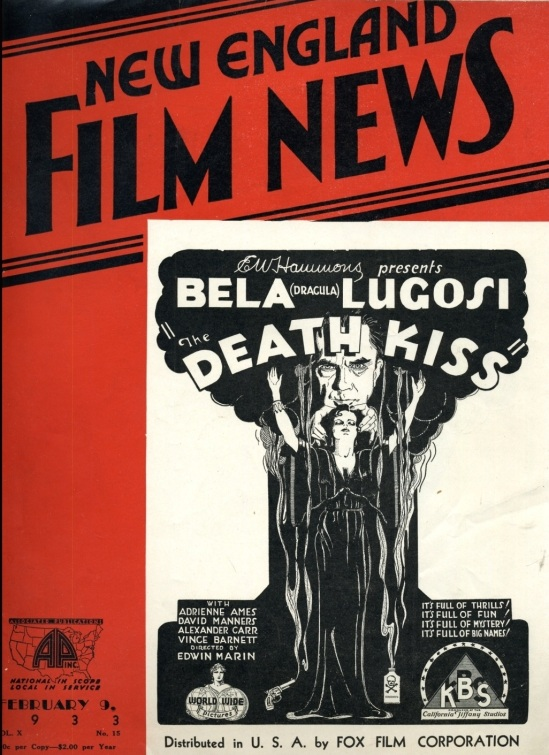 The Death Kiss New England Film News February 1933