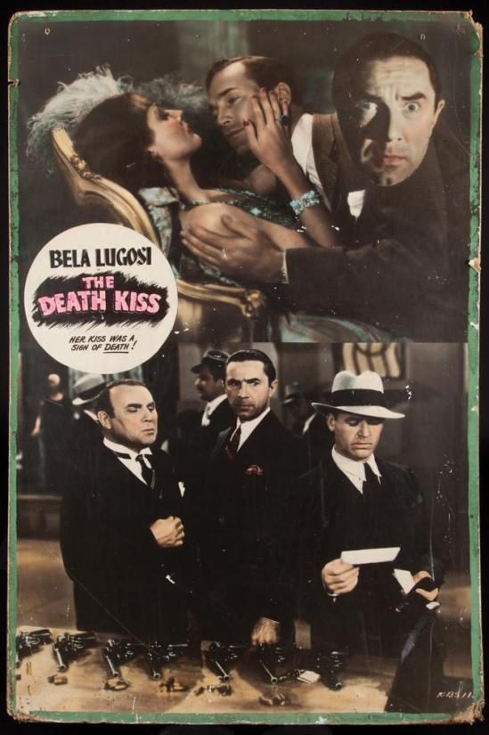 The Death Kiss Window Card