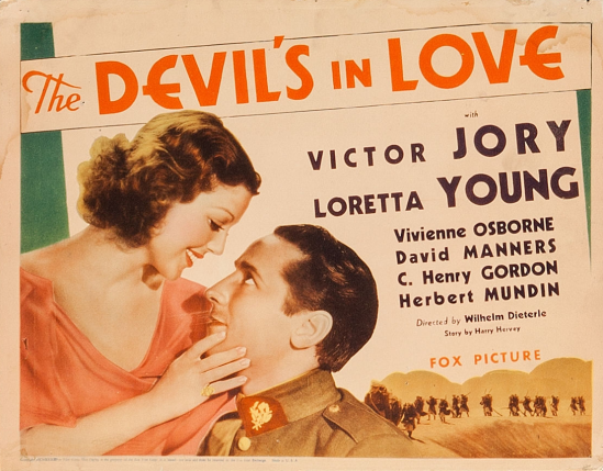 The Devil's In Love Lobby Card 1