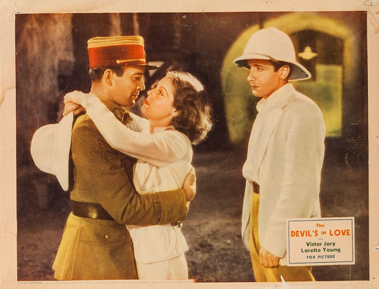 The Devil's In Love Lobby Card 2
