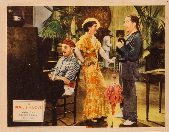 The Devil's In Love Lobby Card 3