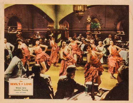 The Devil's In Love Lobby Card 4