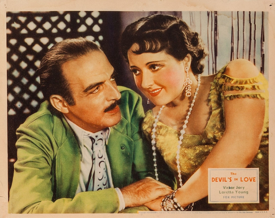 The Devil's In Love Lobby Card 6