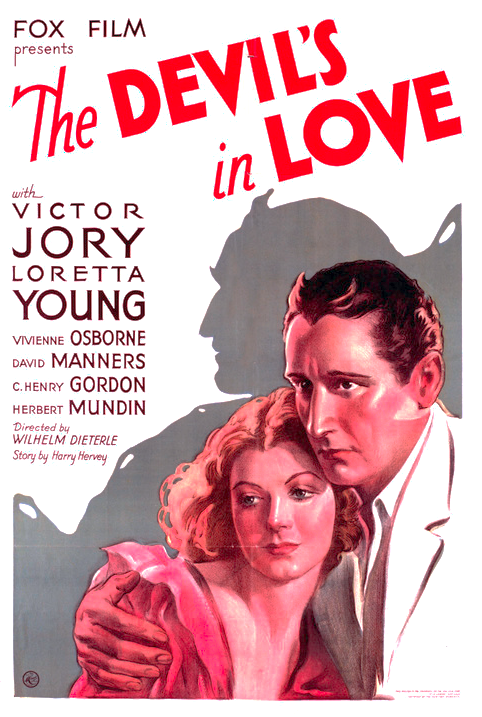 The Devil's In Love One Sheet