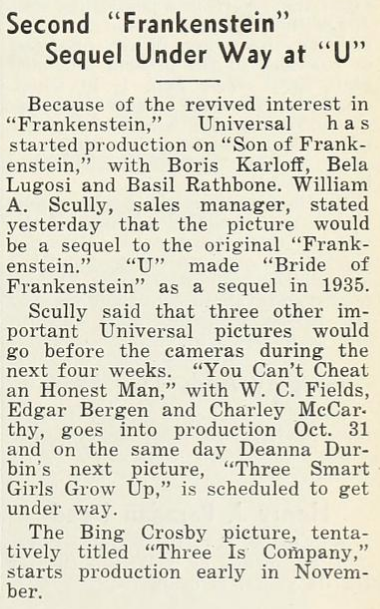 The Film Daily, October 25, 1938