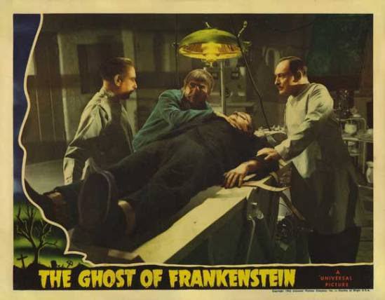 The Ghost of Frankenstein 4