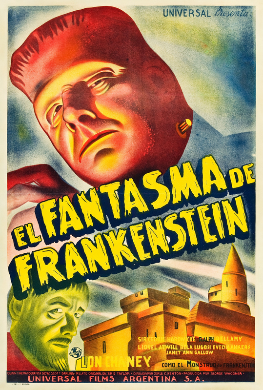 The Ghost of Frankenstein Argentinian 29x43 Poster