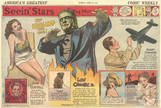 The Ghost of Frankenstein Fug, April 19, 1942